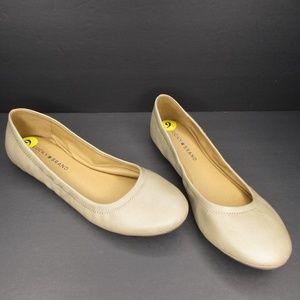 Lucky Brand Beige Ballet Flats Size 9M